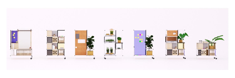flexible office. Type: Office Interior Components Status: Concept Development Flexible